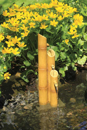 Pouring Three-Tier Bamboo Fountain