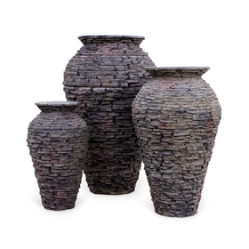 Aquascape®Stacked Slate Urns