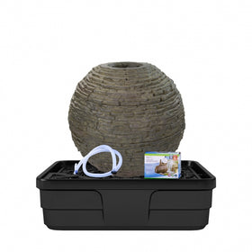 Aquascape® Medium Stacked Slate Sphere Fountain Kit