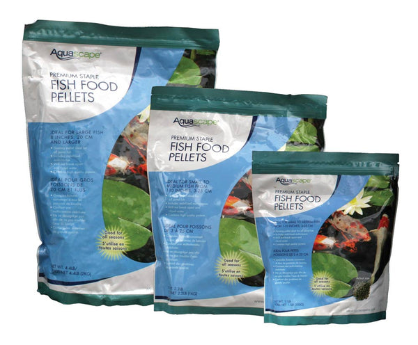 Aquascape® Premium Staple Fish Food Pellets