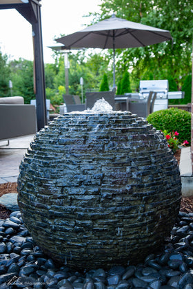 Aquascape® Stacked Slate Spheres