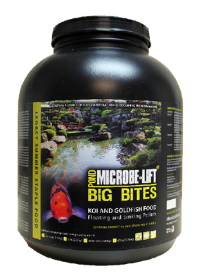 Microbe-Lift® Legacy Big Bites Floating Pellets - Food for Larger Fish