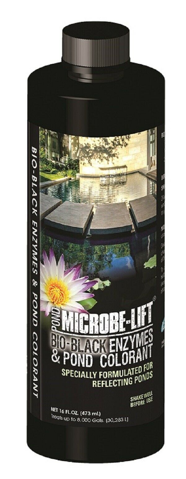 Microbe-Lift® Bio-Black - Safely Colors with Added Beneficial Bacteria