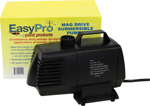 EasyPro Submersible Pond & Fountain Pumps