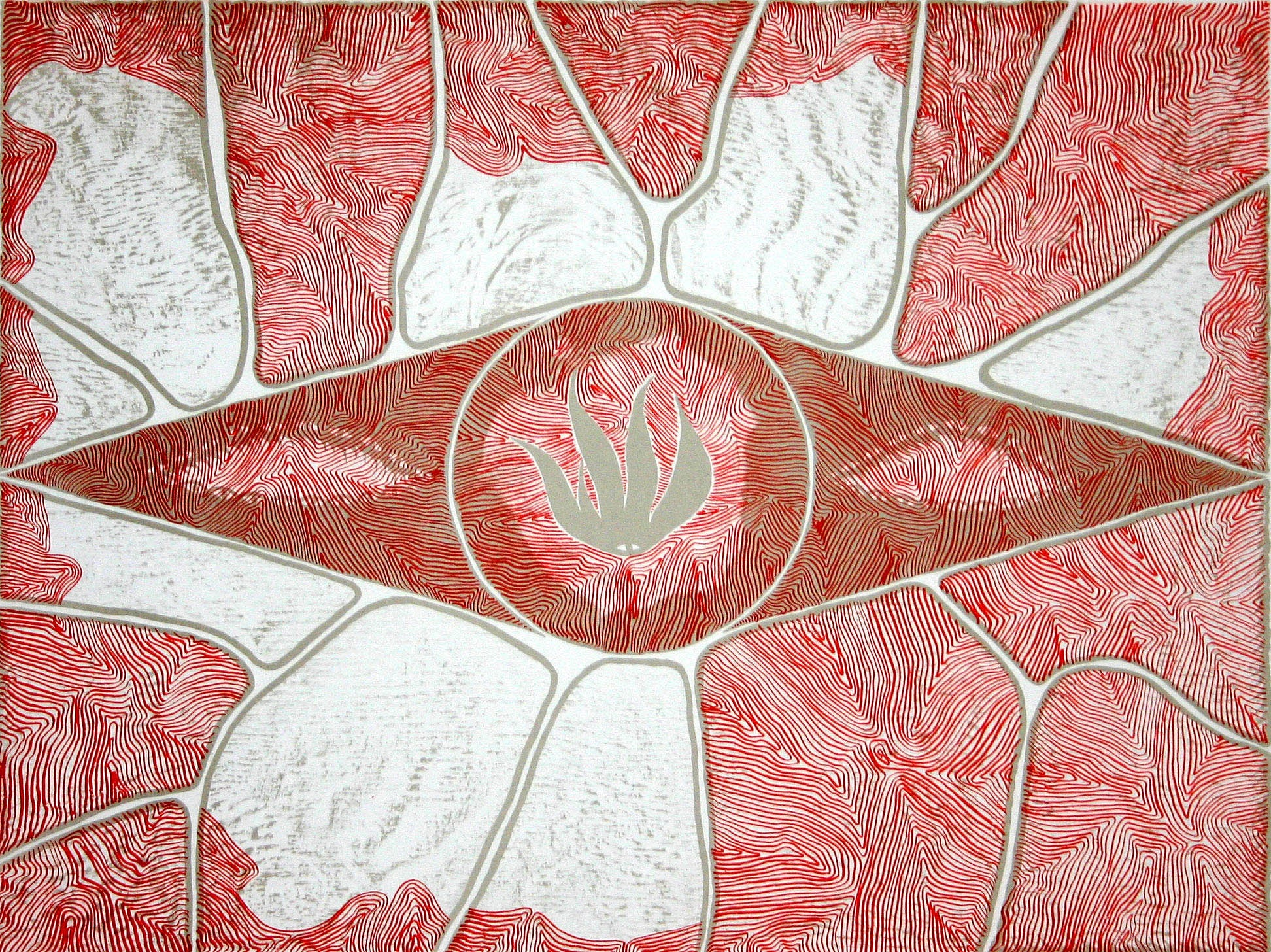 Untitled (Red & White)