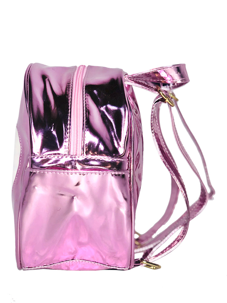 HEART BACKPACK - PINK