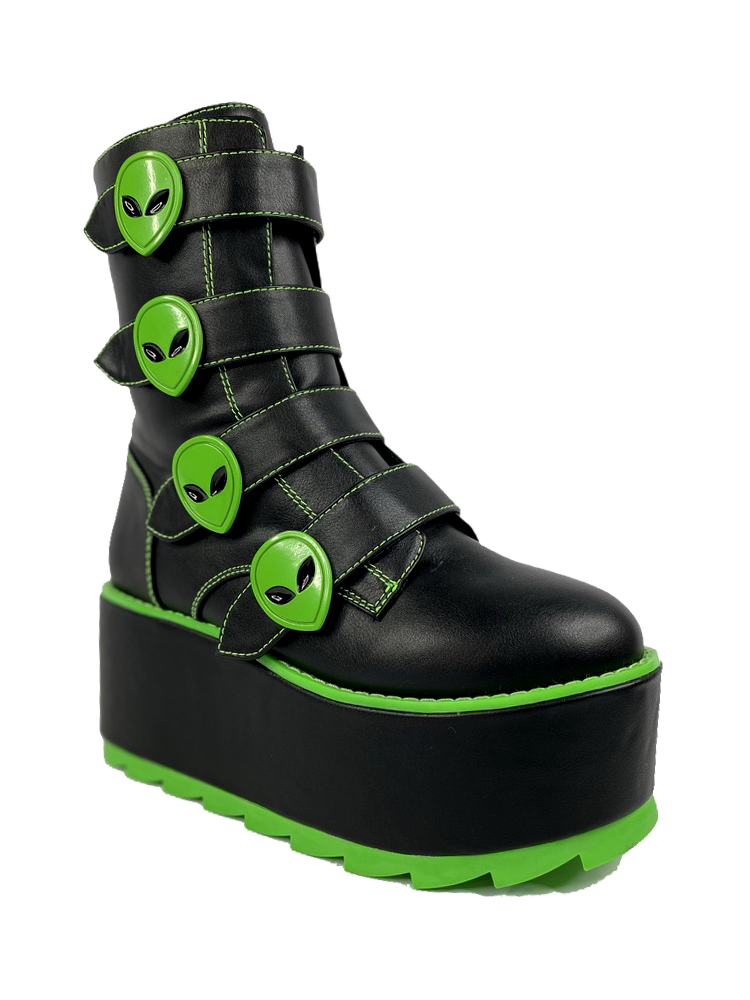 KARMA ALIEN - BLACK/GREEN [PRESALE: SHIPS MID DECEMBER]