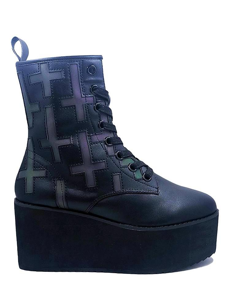 STOMP CROSS - BLACK REFLECTIVE