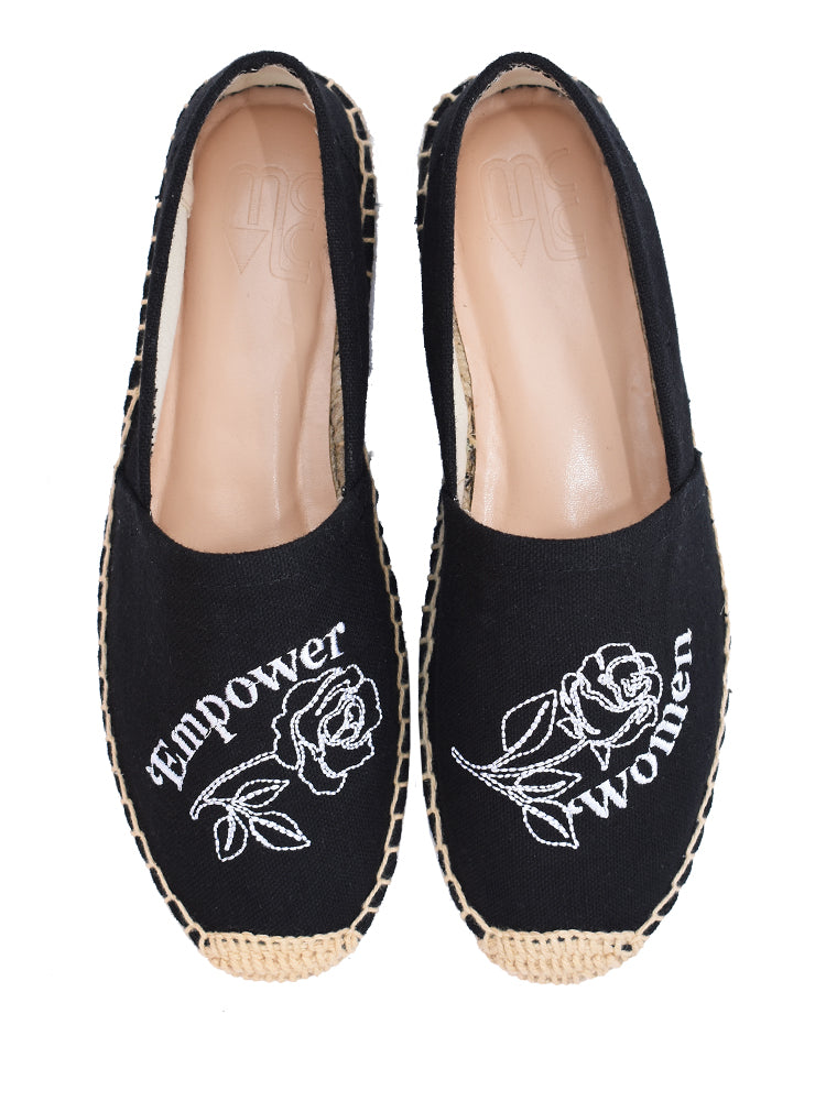 Empower Women Espadrille by MCLC