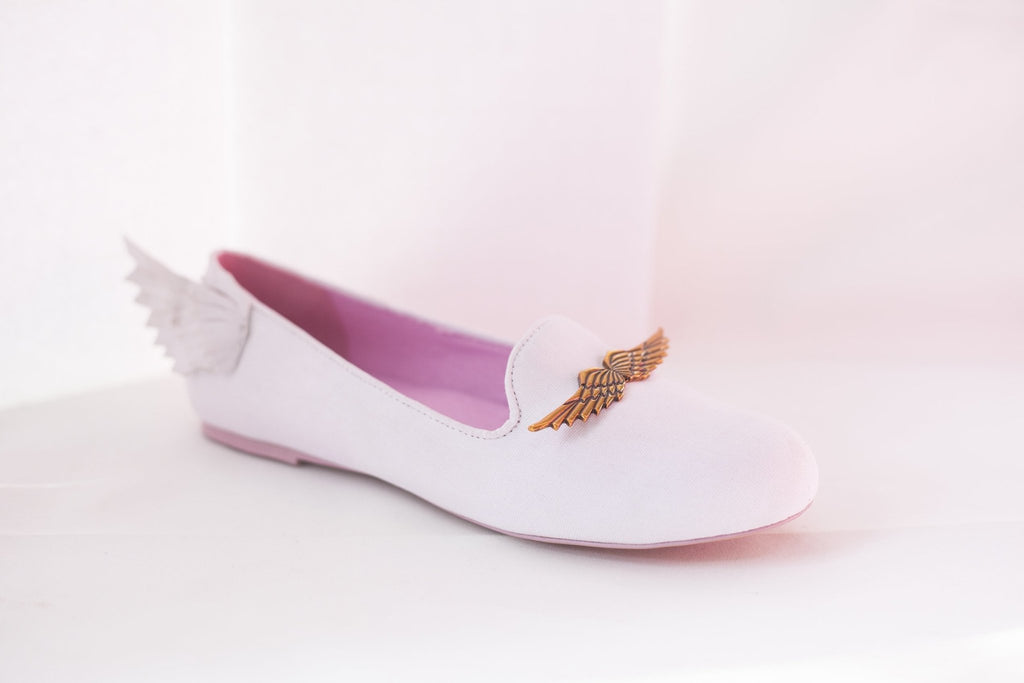 FLYH FLAT ~ white/pink | color changing flat - Y R U