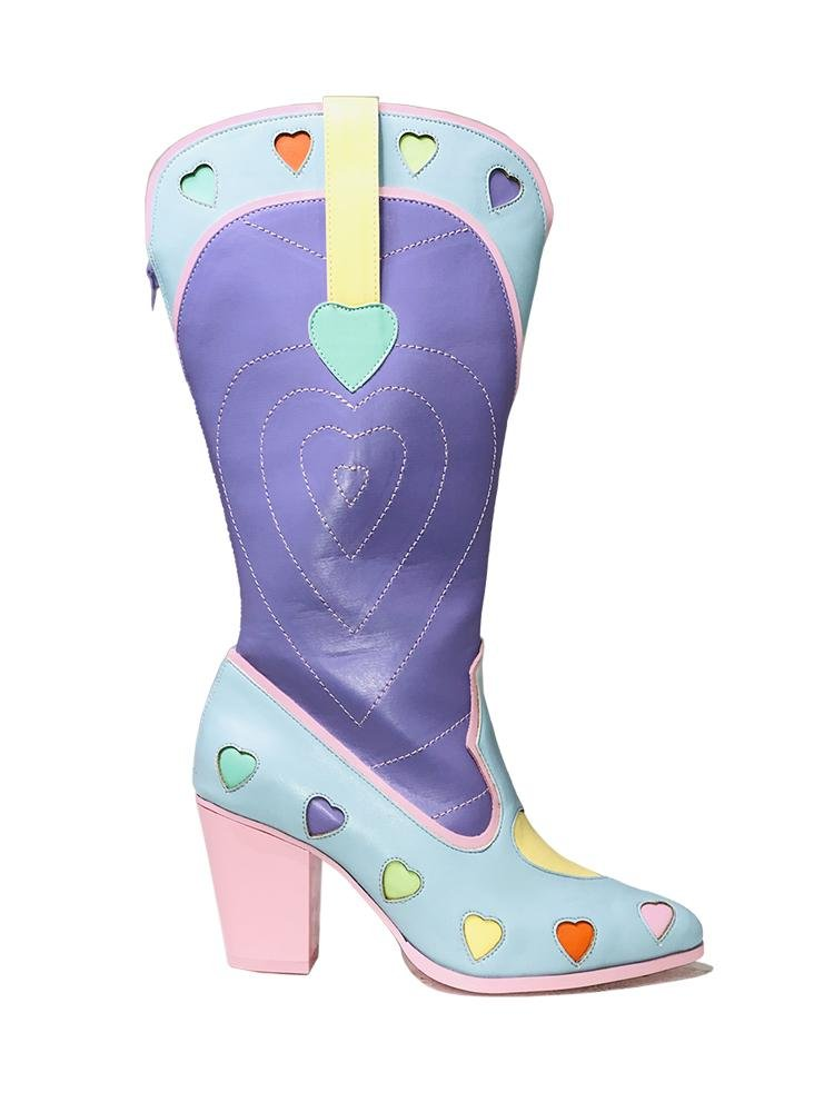 SPACE COWGIRL HEART - PASTEL - Y R U