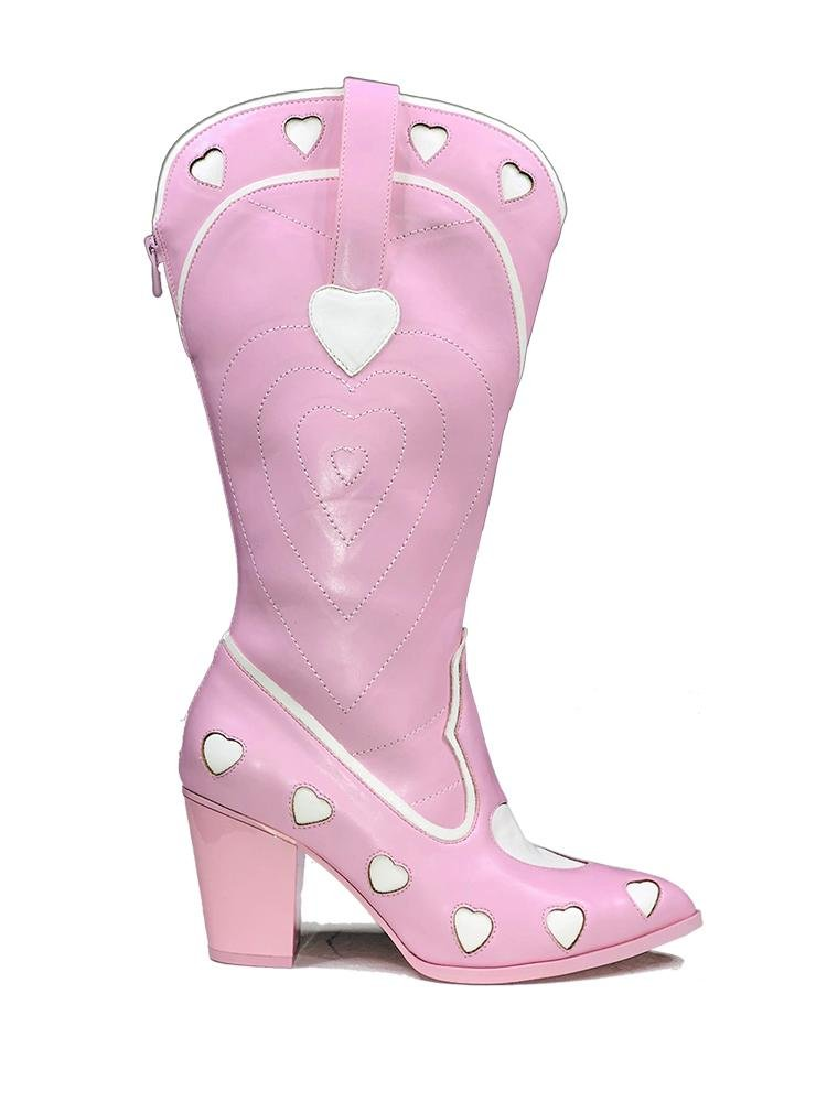 SPACE COWGIRL HEART - PINK - Y R U