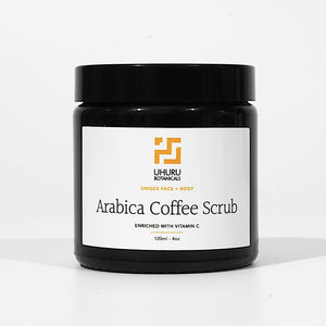 Arabica Coffee Scrub – Lemongrass