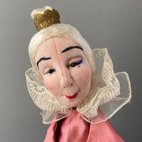 Queen Hand Puppet by Curt Meissner ~ Germany 1960s
