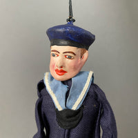Sailor Toy Marionette ~ Italy 1930s