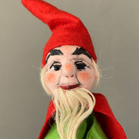 Gnome Hand Puppet by Curt Meissner ~ Germany 1960s