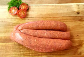 Worcestershire Sauce and Cracked Pepper Sausages