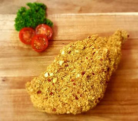 Spicy Crumbed Pork Cutlet