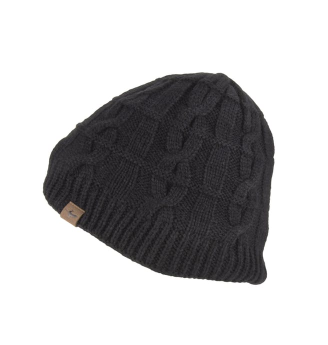 waterproof-cold-weather-cable-knit-beanie-hat