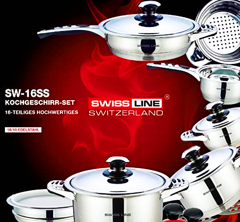 COOKWARE 16 PIECES