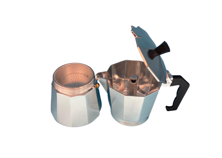 Aluminium coffee pot 6cups