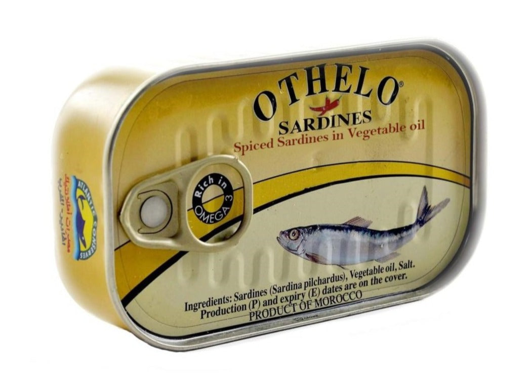 Othelo Sardines Scharf 125 g