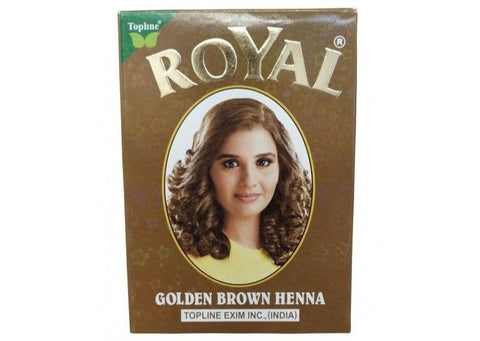 Henna Royal Golden Brawn 60g