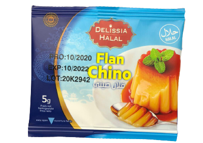 Pudding - Flan Chino Delicia Vanille 5g