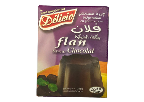 Pudding - Flan Delicia Schock 80g