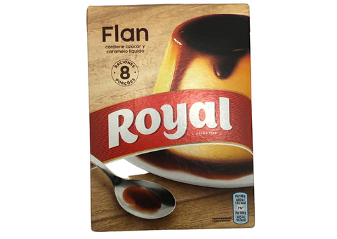 Pudding - Flan Royal Karamel 8Portionen
