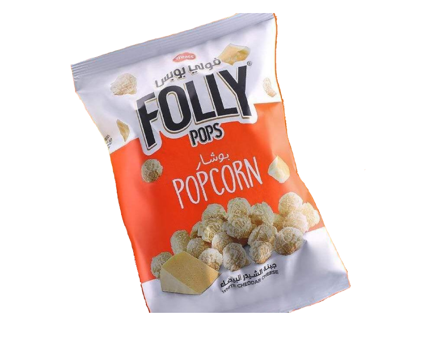 Folly Pops weiß Chedar 40g