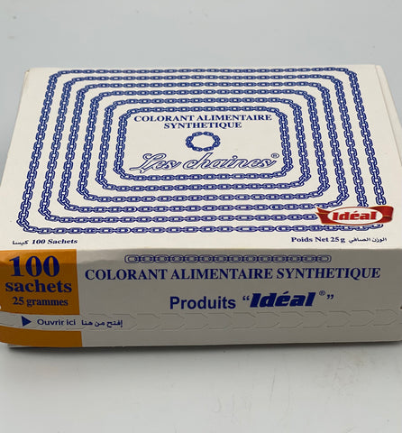 Ideal Colorant Alimentaire 100St.Pc