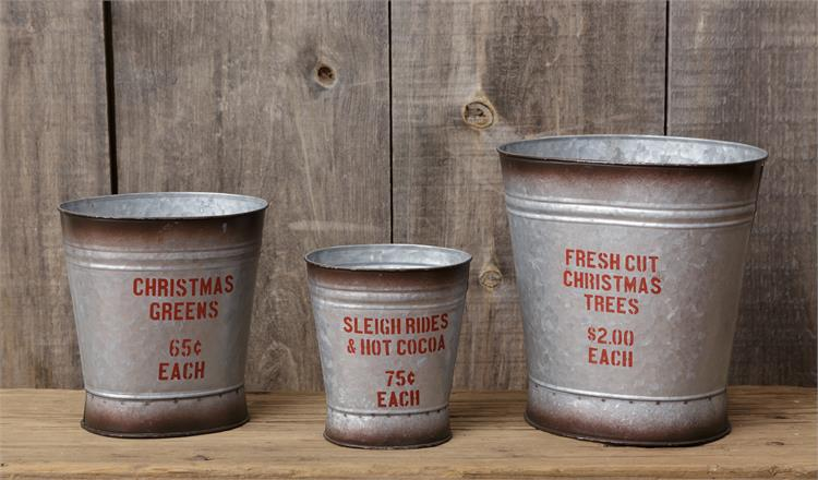 Holiday Sentiments Market Buckets