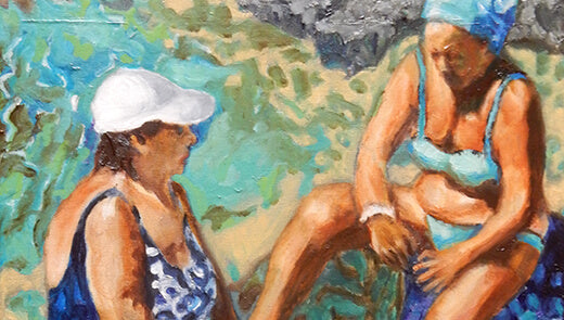 New bather series now on show at Kellie Miller Arts!