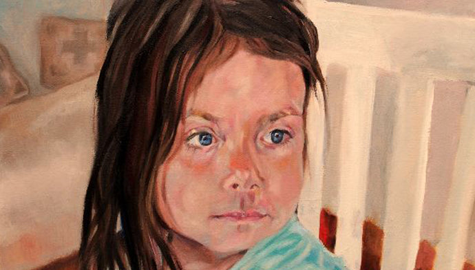 Child portrait commission: Else Hewage