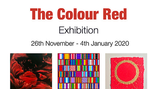 Private View invitation: The Colour Red