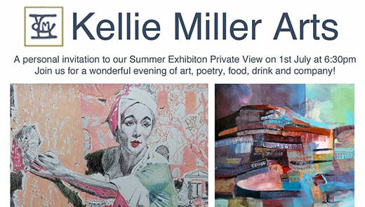 Major exhibition of new busker and musician art at Kellie Miller Arts!
