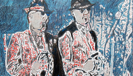The Rawhides - Blues Brothers tribute band portraits