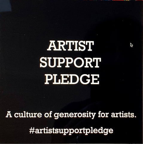 Artists support pledge lockdown initiative taken up by artists such as Stella Tooth