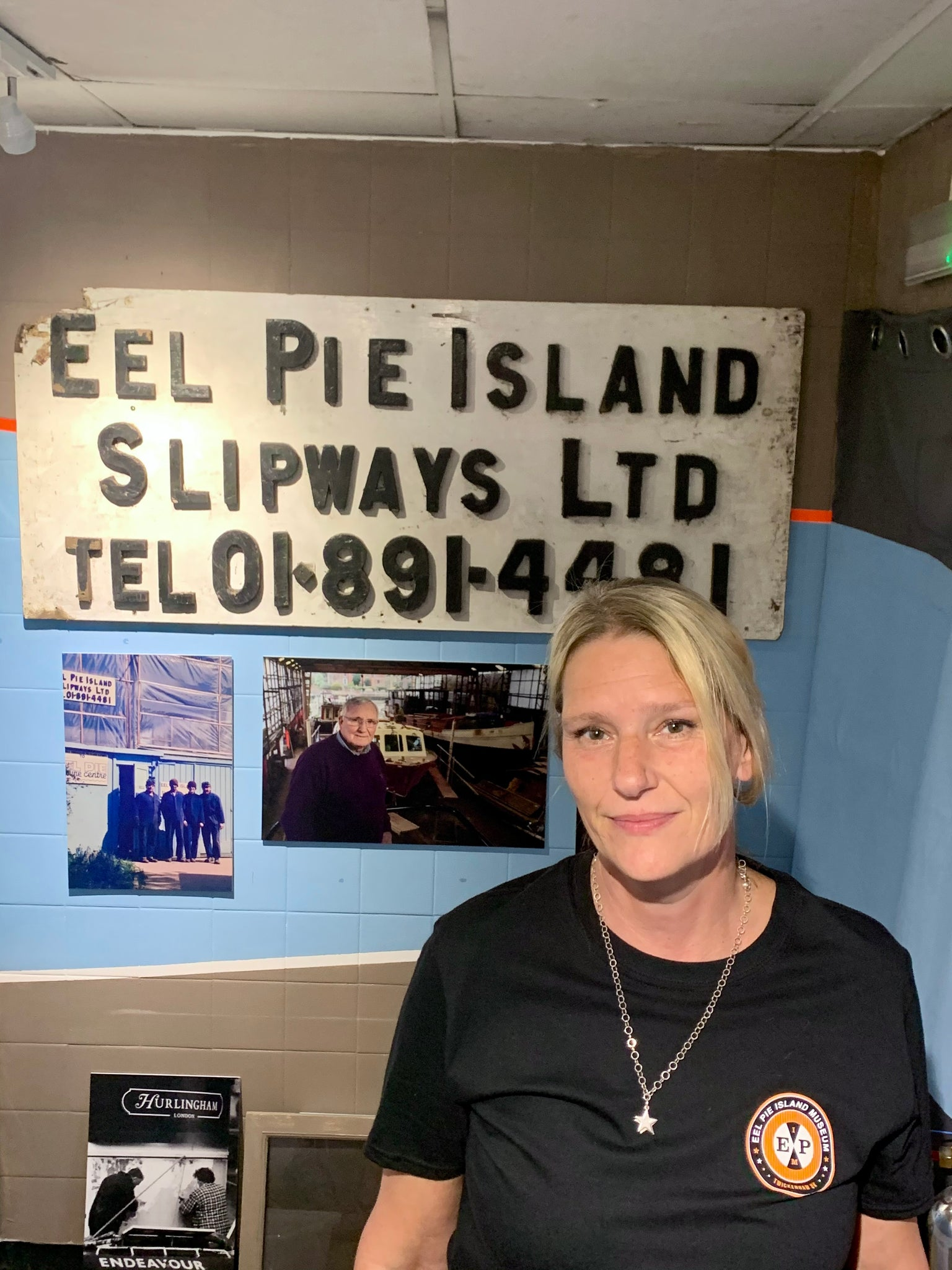Michelle Whitby Curator Eel Pie Island Museum