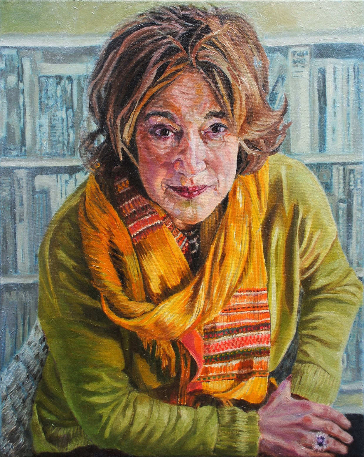 Geraldine Sharpe-Newton by Stella Tooth portrait artist