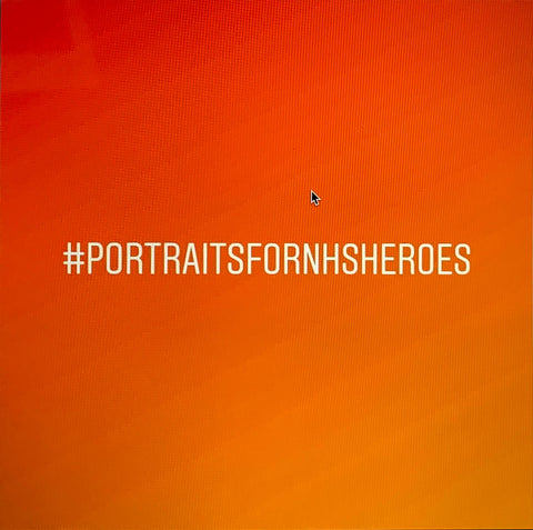 Portraits for NHS heroes initiative to give free thank you portrait to frontline staff