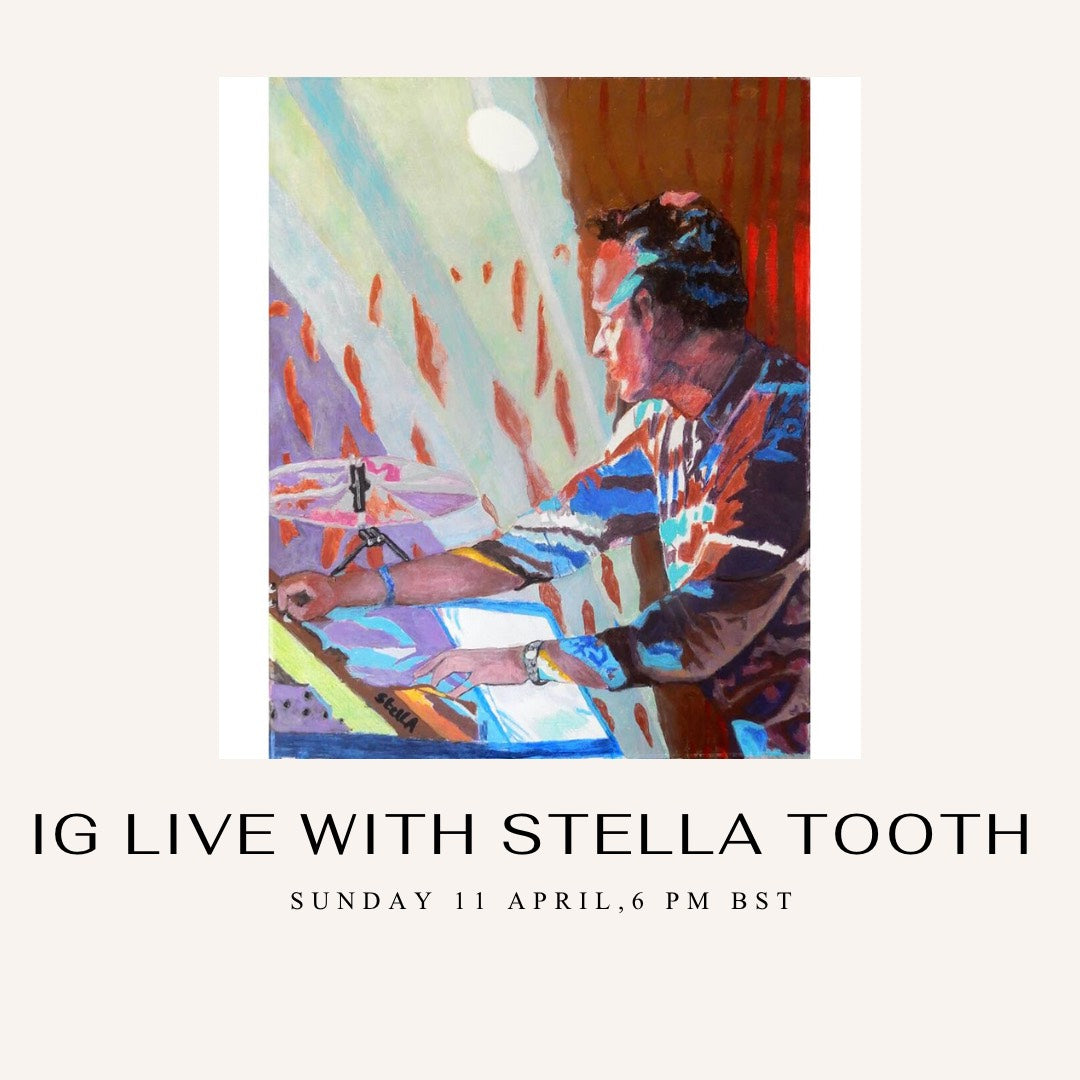 Skylark Galleries IGTV April 11 from 6-7pm with artist Stella Tooth interviewed by Joel Sydenham