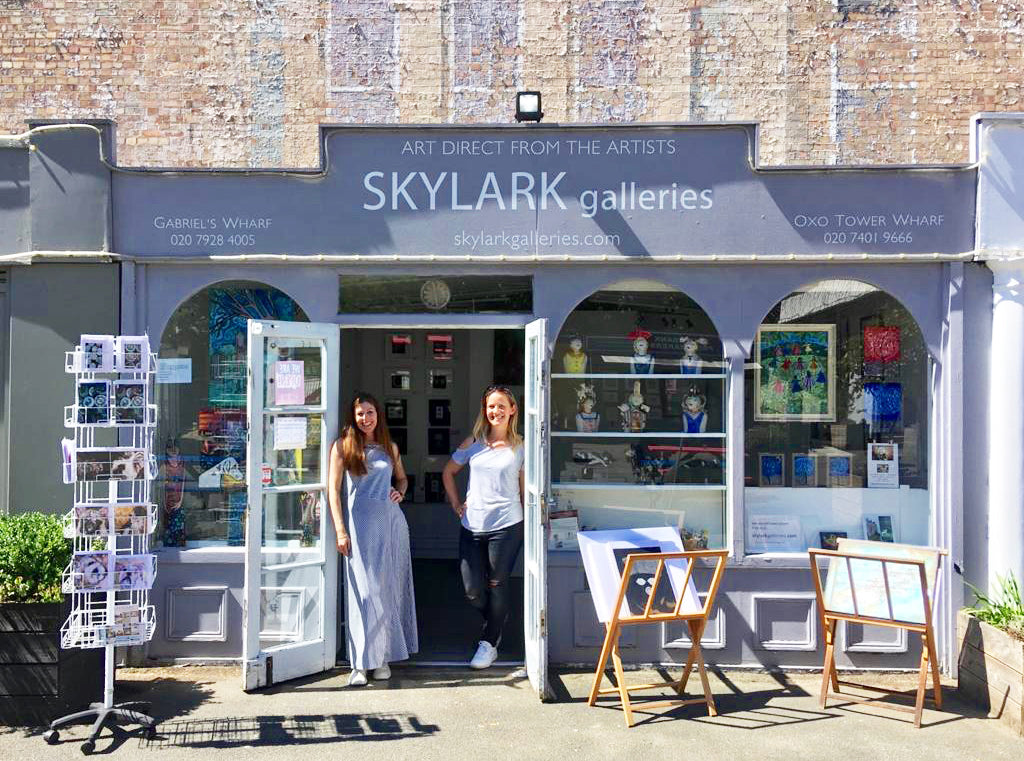 Skylark Galleries in Gabriel's Wharf on the South Bank
