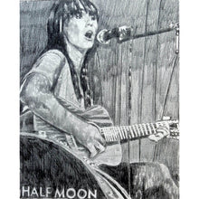 Load image into Gallery viewer, Anna Wolf at the Half Moon Putney original artwork by Stella Tooth