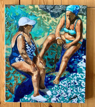 Load image into Gallery viewer, Back and forth in Ischia by Stella Tooth Oil Painting
