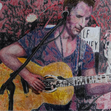 Load image into Gallery viewer, Chesney Hawkes at the Half Moon Putney by artist Stella Tooth Detail