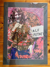 Load image into Gallery viewer, Comedian Shappi Khorsandi Half Moon Putney by Stella Tooth Mixed Media