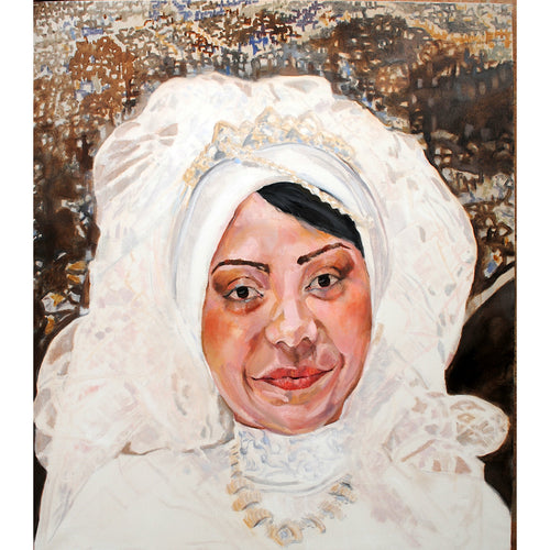 The Egyptian Bride oil on canvas by Stella Tooth
