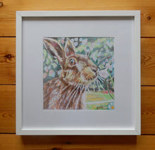 Load image into Gallery viewer, Harry the hare Original Artwork by Stella Tooth